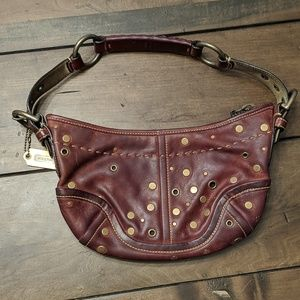 Coach Hobo/Boho Small Rose Shoulder purse